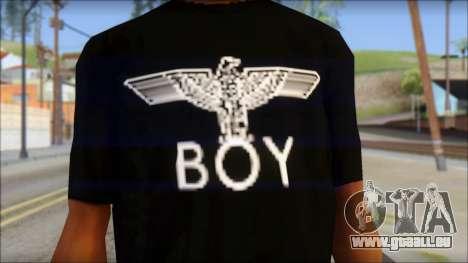Boy Eagle T-Shirt pour GTA San Andreas troisième écran