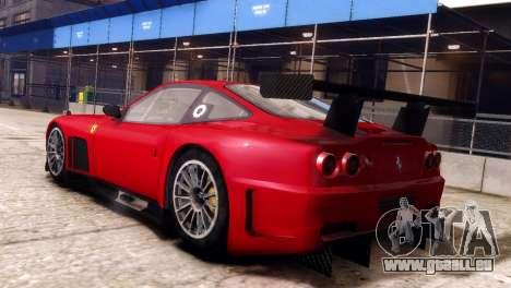 Ferrari 575 GTC für GTA 4 linke Ansicht