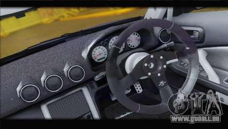 Nissan Silvia S15 Top Flight für GTA San Andreas Rückansicht