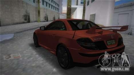 Mercedes-Benz SLK55 AMG Tuned für GTA Vice City linke Ansicht