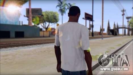 Rise Against T-Shirt V2.1 pour GTA San Andreas deuxième écran