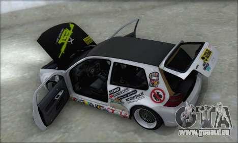 Volkswagen Golf MK4 R32 pour GTA San Andreas roue