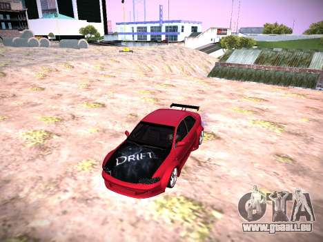 Audi A4 Extreme für GTA San Andreas zurück linke Ansicht