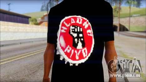 Hladno Pivo T-Shirt pour GTA San Andreas troisième écran