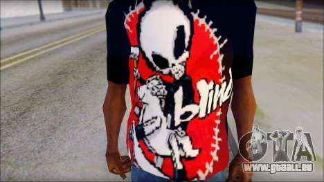 Blind Shirt pour GTA San Andreas troisième écran