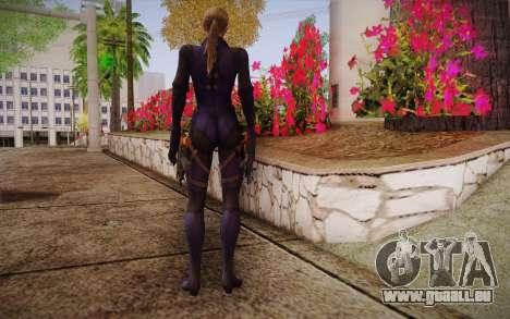 Jill Valentine from Resident Evil für GTA San Andreas zweiten Screenshot