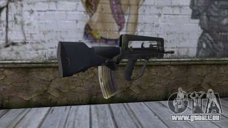 Famas from CS:GO v2 für GTA San Andreas zweiten Screenshot