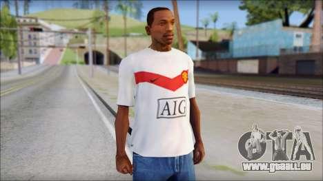 Manchester United Shirt pour GTA San Andreas