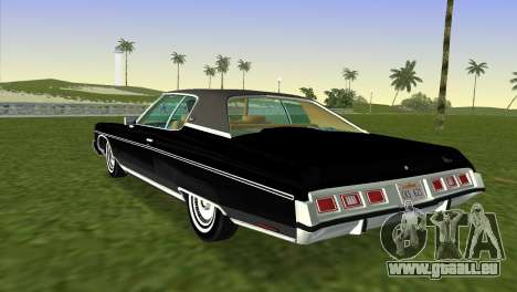 Chevrolet Caprice Classic 1973 für GTA Vice City linke Ansicht