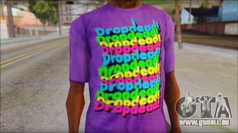 Dropdead T-Shirt für GTA San Andreas dritten Screenshot