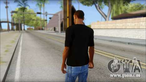 Infected Rain T-Shirt für GTA San Andreas zweiten Screenshot