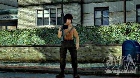 Rambo pour GTA 4 quatrième écran
