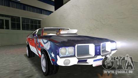 Oldsmobile 442 1970 v2.0 pour GTA Vice City