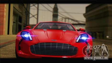 Aston Martin One-77 2010 pour GTA San Andreas