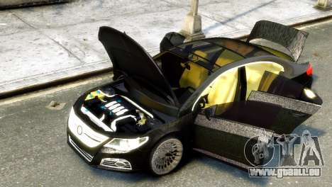 Volkswagen CC pour GTA 4 Vue arrière de la gauche