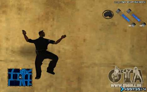 C-HUD by SampHack v.6 pour GTA San Andreas troisième écran