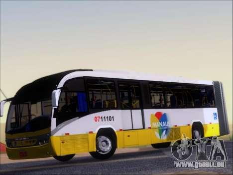 Neobus Mega BRT Volvo B12M-340M pour GTA San Andreas vue intérieure