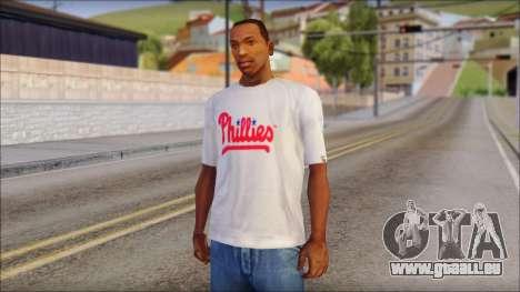 Phillies T-Shirt für GTA San Andreas