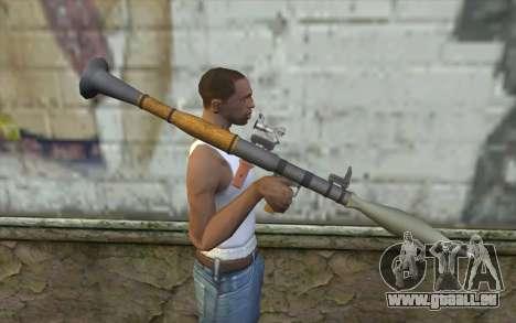 Rocket launcher AG7 für GTA San Andreas dritten Screenshot