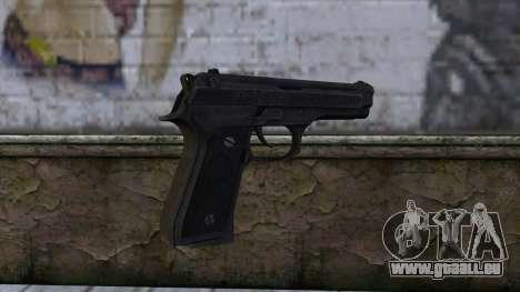 Marisa M9 Custom Master Spark pour GTA San Andreas deuxième écran