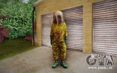 Hazmat Suit from Killing Floor für GTA San Andreas