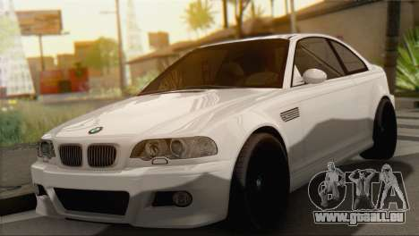 BMW M3 E46 Black Edition pour GTA San Andreas