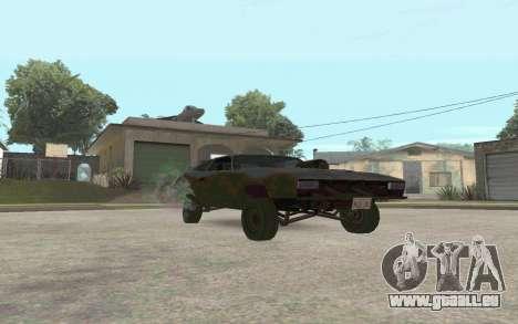Interceptor pour GTA San Andreas laissé vue