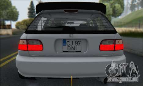 Honda Civic 1995 pour GTA San Andreas roue