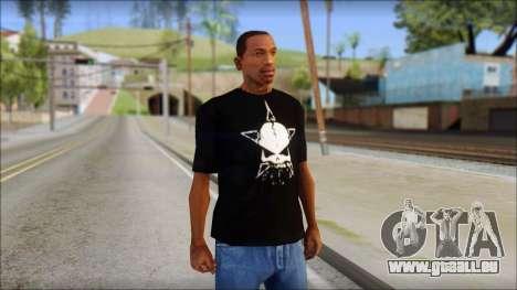Infected Rain T-Shirt pour GTA San Andreas