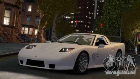 Coquette Racing pour GTA 4