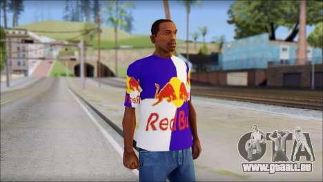 Red Bull T-Shirt für GTA San Andreas