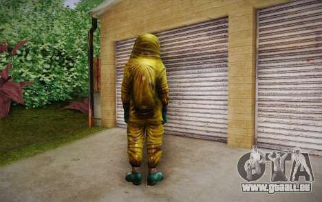 Hazmat Suit from Killing Floor für GTA San Andreas zweiten Screenshot
