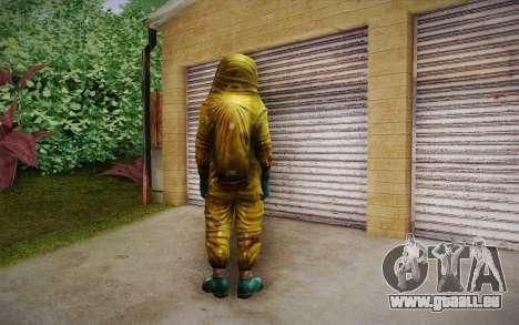 Hazmat Suit from Killing Floor für GTA San Andreas zweiten Screenshot