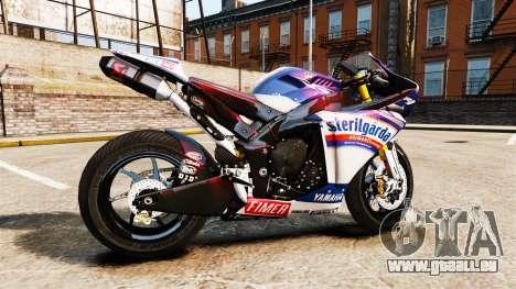 Yamaha YZF-R1 PJ2 pour GTA 4 est une gauche