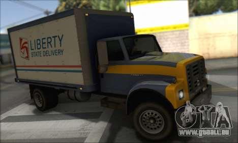 GTA IV Yankee für GTA San Andreas zurück linke Ansicht