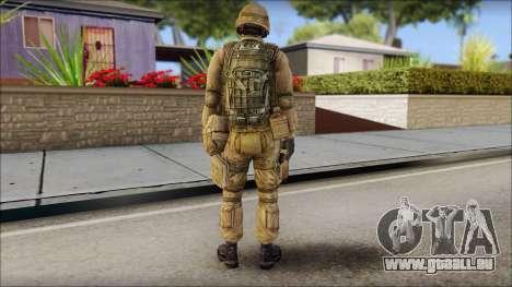 Desert Gafe Soldier Front 2 pour GTA San Andreas deuxième écran