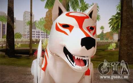 Amaterasu Okami pour GTA San Andreas troisième écran