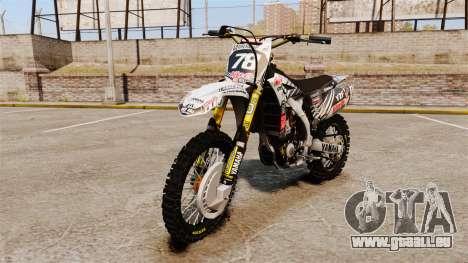 Yamaha YZF-450 v1.15 pour GTA 4