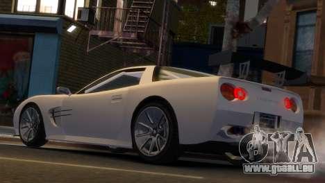 Coquette Racing pour GTA 4 est une gauche