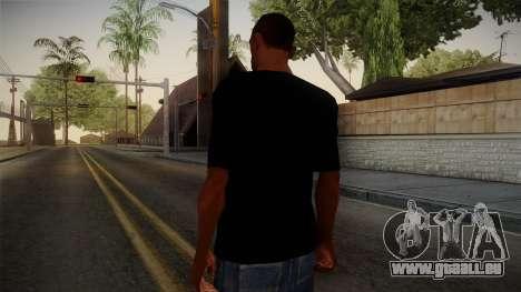 Eminem T-Shirt für GTA San Andreas zweiten Screenshot