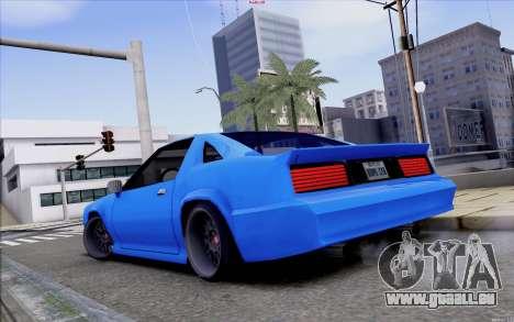 Buffalo Drift Style pour GTA San Andreas sur la vue arrière gauche