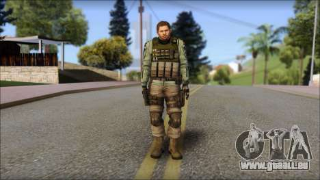 Chris Europa from Resident Evil 6 pour GTA San Andreas