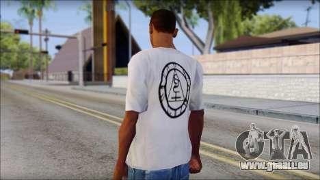 Silent Hill T-shirt für GTA San Andreas zweiten Screenshot