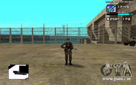 Perfect C-HUD pour GTA San Andreas
