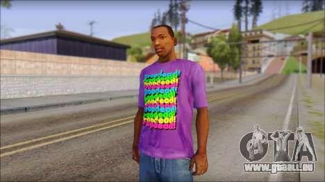 Dropdead T-Shirt für GTA San Andreas