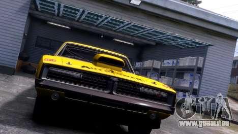 Dodge Charger RT 1969 EPM für GTA 4 Innenansicht