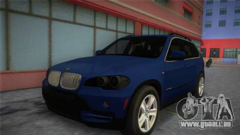 BMW X5 2009 pour GTA Vice City