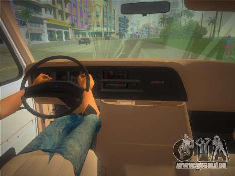 Ford E-350 1988 Cube Truck für GTA Vice City rechten Ansicht