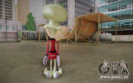 Squilliam from Sponge Bob pour GTA San Andreas deuxième écran