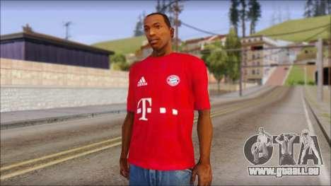 Bayern Munich 2013 T-Shirt pour GTA San Andreas
